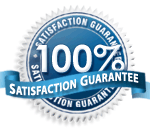 lewisville's satisfaction guarantee stamp