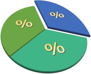 pie chart showing balance